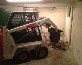 3 Bortbilning betonggolv