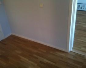 8 Bärväggarna på nya golvgjutningen